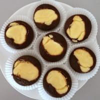Muffiny s tvarohovou náplní